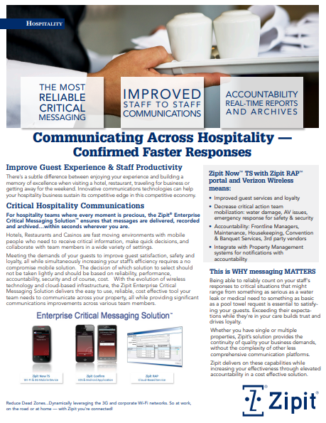 How to Improve Critical Hospitality Communication